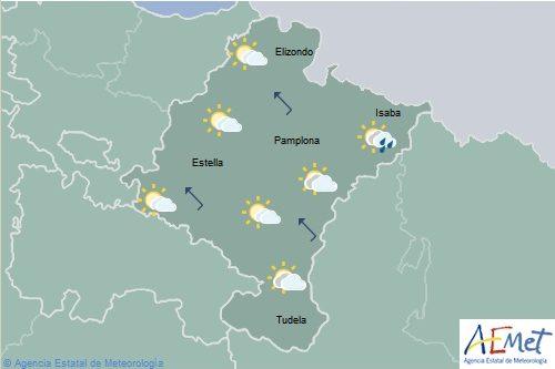 Chubascos y tormentas por el pirineo sin descartar por el resto de Navarra