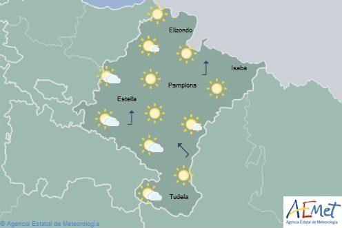 Ascenso de las temperaturas que pueden llegar a los 29 grados en Navarra