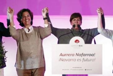 Uxue Barkos e Itziar Gómez, únicas candidatas en las primarias de Geroa Bai