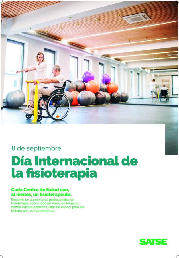 """SATSE: """"Un fisioterapeuta, al menos, en cada centro de salud de Navarra"""""""