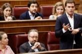 """Rivera afea al """"doctor Sánchez"""" que no publique el informe sobre adoctrinamiento"""