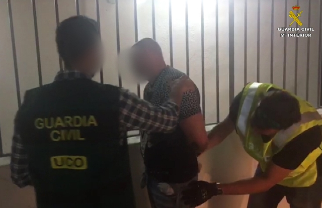 La Guardia Civil detiene a un ex oficial de policía ruso reclamado por las autoridades judiciales de su país