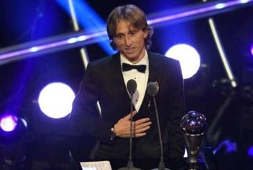 Luka Modric se impone a Cristiano Ronaldo en el 'The Best'