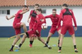Osasuna regresa mañana a los entrenamientos para preparar el partido de Elche