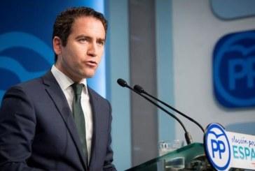 """El PP rechaza el proyecto de los presupuestos por ser un paso atrás """"imperdonable"""""""
