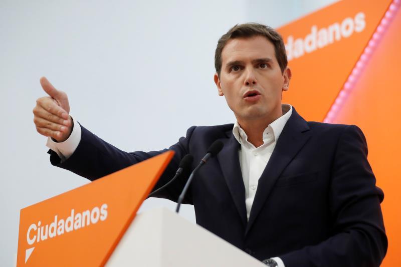 Rivera: No me veréis hablando de Franco o del aborto, eso lo dejo a PP y PSOE