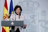 Proceso separatista: Celaá denuncia las «algaradas incendiarias» de Cataluña: nada quedará impune