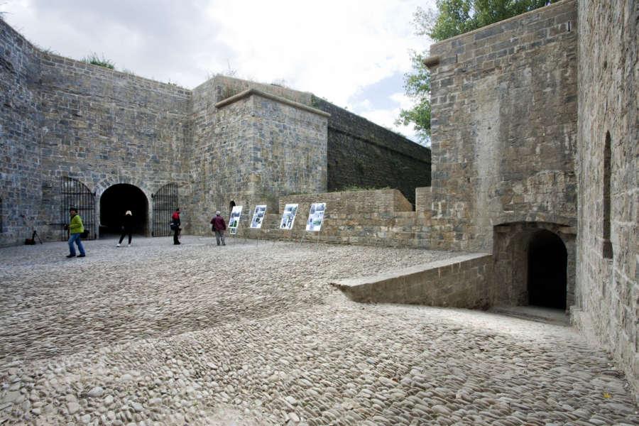 Restaurado otro espacio de la fortaleza militar de Pamplona, la Ciudadela