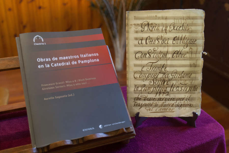 Una colección revive obras religiosasmusicalesinéditas de los fondos de la Catedral de Pamplona