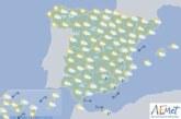 Hoy en España, lluvias en Granada y Almería, temperaturas en aumento en el interior