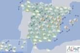 Hoy en España, lluvias fuertes en Aragón, Cataluña, Castellón y Baleares