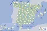 Hoy en España, chubascos que podrían ser fuertes localmente en las Canarias orientales