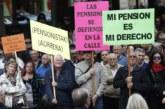 Pensionistas piden en el Parlamento foral una pensión mínima de 1.080 euros
