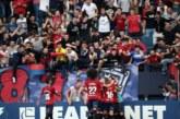 3-1. Osasuna confirma su dinámica ascendente con una victoria a balón parado