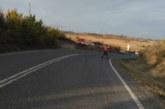 Fallece un motorista de Echarri Aranaz (Navarra) al salirse de la carretera y chocar contra un talud en Bargota