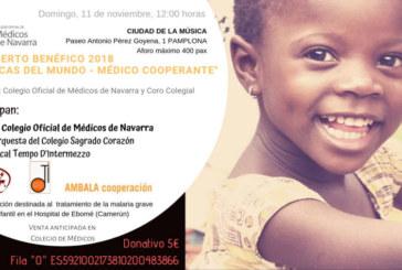 Agotadas las entradas para el Concierto Benéfico en favor de AMBALA organizado por el Colegio de Médicos