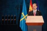 """Felipe VI reivindica la Constitución como marco de """"libertad y democracia"""" ante el acoso secesionista"""