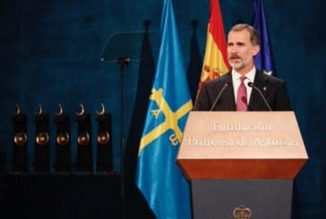 Felipe VI reivindica la Constitución como marco de «libertad y democracia» ante el acoso secesionista