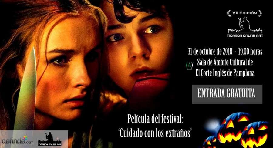 AGENDA: 31 de octubre, en Sala Ámbito Cultural, clausura la VII edición del Festival Internacional de Cine Fantástico y de Terror de Navarra
