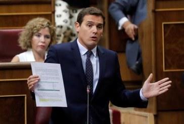 Rivera ve humillante que los Presupuestosdependan de un vis a vis entre Junqueras e Iglesias