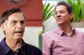 Haddad enfrenta críticas de la izquierda frente a un Bolsonaro fortalecido
