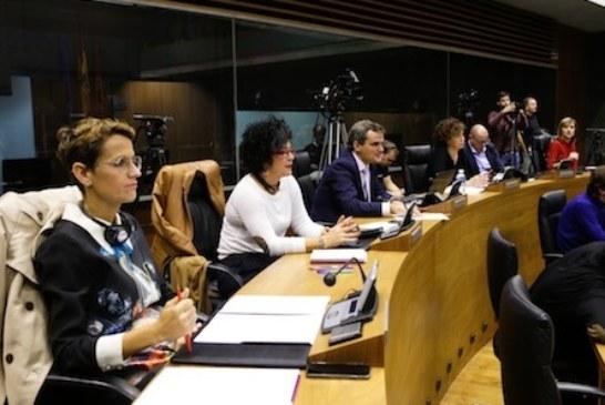 "Debate sobre Navarra: Chivite (PSN) califica la actual legislatura navarra como ""agridulce"""
