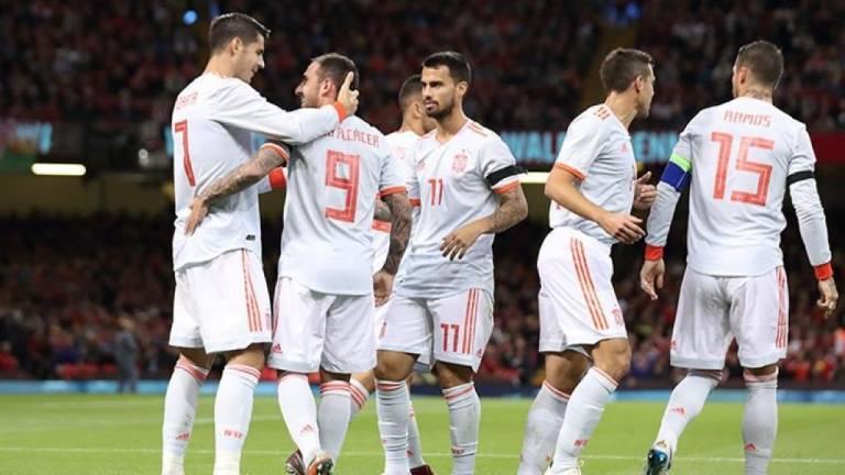 1-4. España reduce a los Dragones Rojos