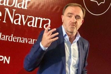 """Esparza a Rivera: """"A Navarra también hay que defenderla frente a las posturas centralistas"""""""