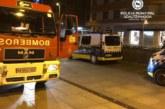 Tres heridos leves en un incendio en la avenida Carlos III de Pamplona