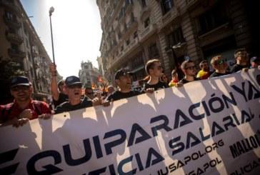 Jusapol denuncia a Torra por incitar a la violencia contra sus manifestantes