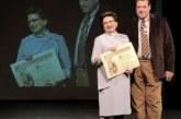 La navarra Pilar Gómara recibe la Medalla de Oro de la Federación Española de Belenistas
