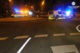 Cuatro pasajeros heridos al caerse tras chocar un autobús con una furgoneta