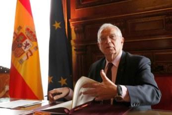 Borrell firma los cuatro memorandos del acuerdo con el Reino Unido sobre Gibraltar