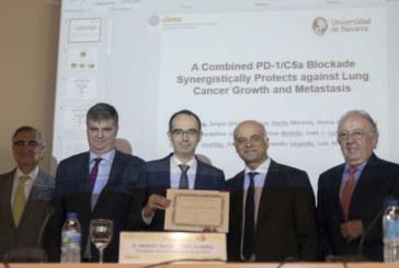 El pamplonés Daniel Ajona, Premio Profesor Durántez sobre inmunología tumoral