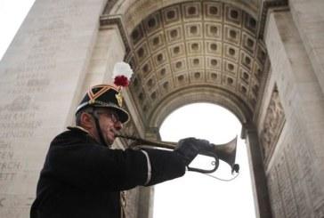 París celebra la ceremonia del centenario del armisticio de la primera guerra mundial