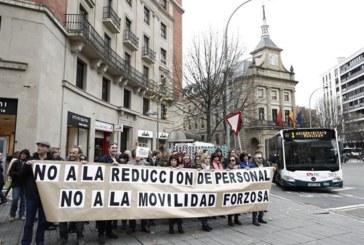 Los funcionarios de Justicia se unen a la huelga también en Navarra