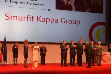 Smurfit Kappa recibe el reconocimiento de la Cámara de Comercio de Valencia