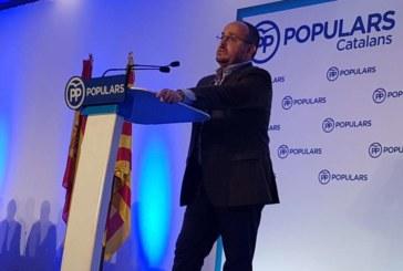Alejandro Fernández, proclamado nuevo líder del PP catalán