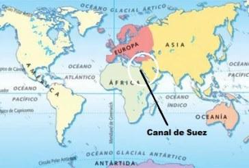 Se inaugura una nueva vía de comunicación, el Canal, llamado de Suez