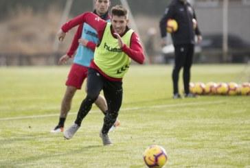 Osasuna sigue preparando el partido contra el Albacete sin Aridane