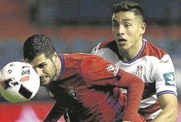 Fran Mérida, «feliz» por su renovación, espera estar con Osasuna en Primera