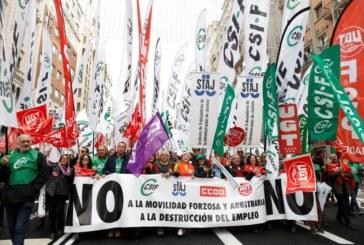 El 80 % de los funcionarios de Justicia secunda la huelga, según CSIF