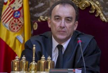 Manuel Marchena a los periodistas: «Yo solo lo sé por vosotros»