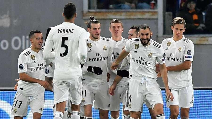 0-2. El Real Madrid toma Roma y sella el pase a octavos como primero