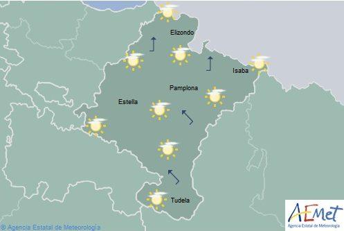 Ascenso notable de temperaturas en Navarra
