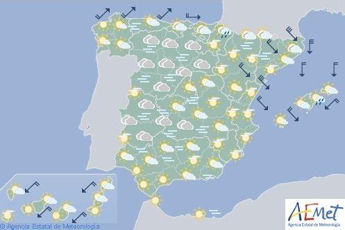 Hoy en España, niebla en ambas mesetas y Extremadura