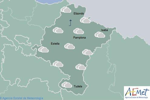 Temperaturas con pocos cambios en Navarra