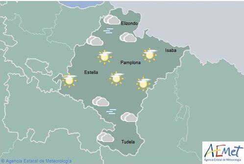 Temperaturas máximas en ascenso en Navarra