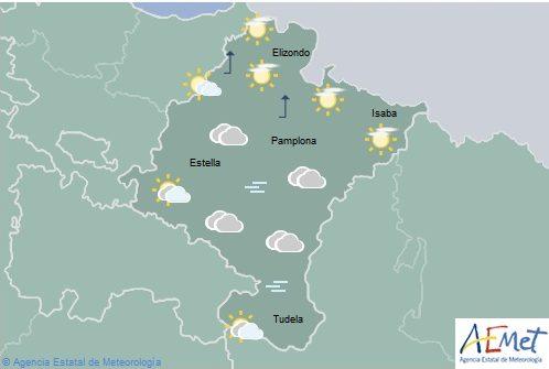 En Navarra niebla, temperaturas con pocos cambios