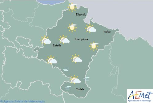 En Navarra brumas y temperatura con pocos cambios